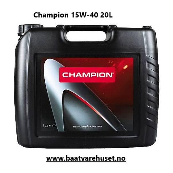 Bilde av Champion 15W-40 VDS 3 olje