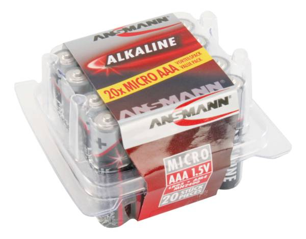Bilde av Alkaline X-power AAA, 20-pk
